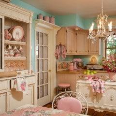 Claves para decorar una cocina Shabby Chic