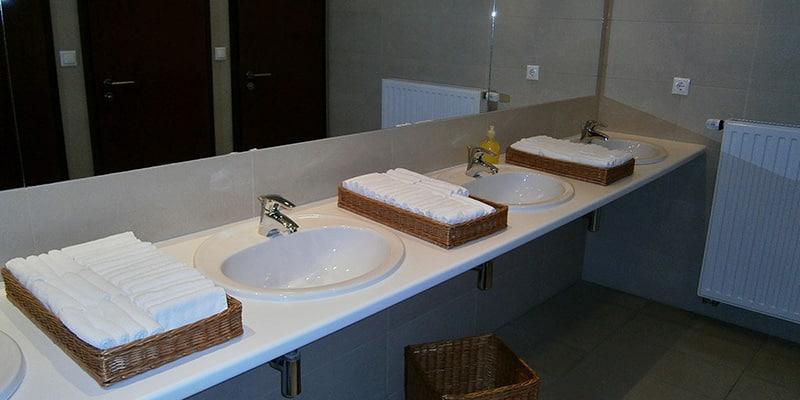 Decoración para baños de hoteles