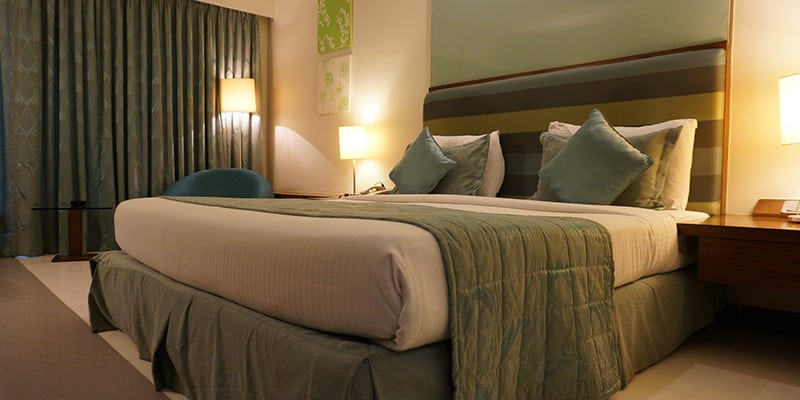 Decoración para habitación de hoteles