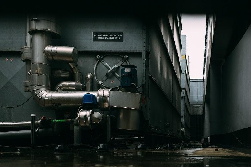 mantenimiento de caldera industrial