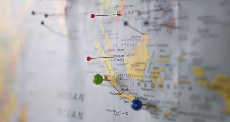 Mapa político para colgar en la pared